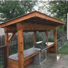 If you are looking for Outdoor Kitchen Decorations, You come to the right place. Here are the Outdoor Kitchen Decorations. This post about Outdoor Kitchen De. Outdoor Kitchen Patio, Outdoor Patio Designs, Outdoor Kitchen Design, Outdoor Decor, Canopy Outdoor, Rustic Outdoor, Outdoor Kitchens, Outdoor Ideas, Grill Canopy