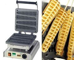 Happy Friday! It's ‪#‎WaffleDay‬, how about making some ‪#‎homemade‬ waffles on a stick with this custom waffle iron?