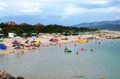 Silo Beach in Krk Island Croatia great for a Family Vacation