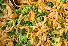 Tasty Chicken, Broccoli And Sesame Noodles