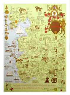 Complete Map of Lancashire by J L Carr