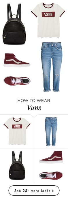 """Vans"" by delaneyrrichins on Polyvore featuring Vans and STELLA McCARTNEY"