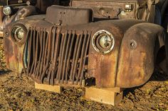 https://flic.kr/p/zMYMR9   The Old Rusted Grill   Abandoned truck in Oklahoma.