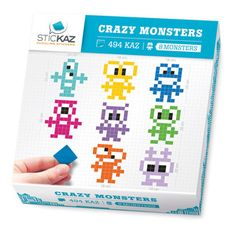 Crazy Monsters Decal, $29.50, now featured on Fab.
