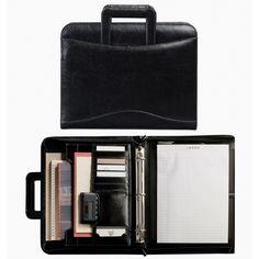 Wenger Easy and Go Presentation Portfolio Folder Binder Writing Pad, Black
