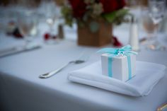 Gifts for guests.  Photo By Marsha McNeely Photography