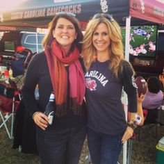 University of South Carolina ~ Great meeting so many new people and catching up with old friends! How the tailgate happens at USC. November 2013