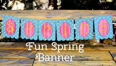 Fun Spring Banner!