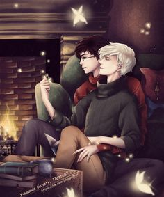 Read Drarry (Headcanons e imágenes) from the story DRARRY & WOLFSTAR by with reads. Harry Potter Fan Art, Harry Potter Comics, Harry Potter Puns, Harry Potter Ships, Harry James Potter, Harry Potter Pictures, Harry Potter Cast, Harry Potter Universal, Drarry Fanart