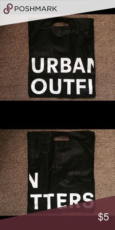 Urban Outfitters Tote Bag Urban Outfitters tote bag in black. Useful, in great condition! Urban Outfitters Bags Totes