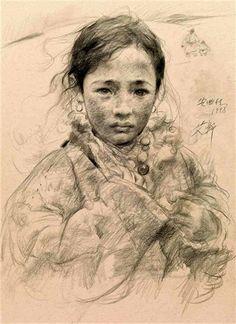 Village Girl by Ai Xuan