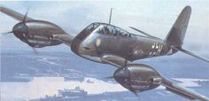 The Me 410 was heavily armed, fast, and had sufficient range. The succes of the Me410 was a great relief for Prof. Dr. Willy Messerschmitt, since Messerschmitt had been forced to resign after the utter failure of the Me 210. The name Hornisse is actually an unofficial one. The Me 410 was in use by amongst other II/ZG 26 also known as the Hornissengeschwader. This Geschwader had received wide publicity because of it's successes.