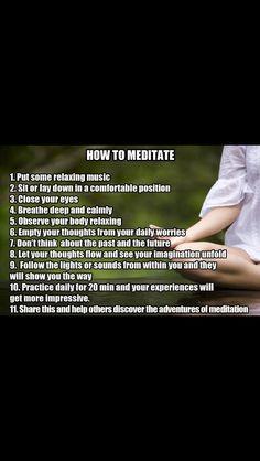 How to #meditate www.suitablegifts.com