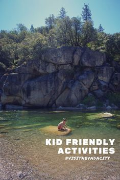 Looking for ideas on things to do with kids for your next visit to Nevada City. Outdoor adventures, camp, camping, train museums, swimming holes and more! City Events, Local Events, Summer Activities For Kids, Summer Kids, Train Museum, Grass Valley, Nevada City, Swimming Holes, Sierra Nevada