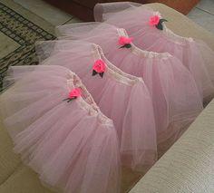 Minha Primeira Costura: Como fazer uma saia de bailarina (tutu) - passo a passo …