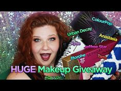HUGE Makeup Giveaway OPEN Kylie Jeffree Star Morphe Urban Decay ColourPop Tarte & MORE International - YouTube
