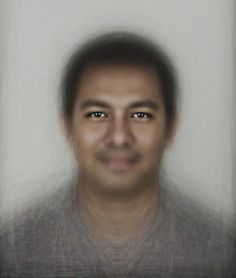 David Trood created the Face of Humanity based on an accurate ratio of the world´s ethnic/regional groups according to 2009 demographics. He photographed 670 men and women (1/10,000,000th of the global population at that time) who were selected to proportionally represent the demographics of the world population as reported in 2009. He then merged all of the male portraits and all of the female portraits to create respectively the Male Face of Humanity and the Female Face of Humanity.
