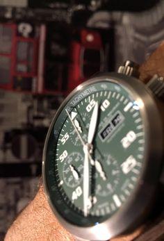 Maurice de Mauriac Chronograph Modern bespoke timepiece. Handmade watches for men and women.