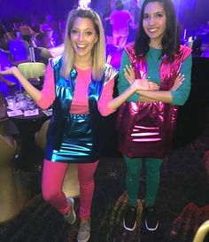 Pin for Later: creepy halloween costumes. Zenon: Girl of the 21st Century | 31 Two-Person Halloween Costumes That Are Borderline Genius.
