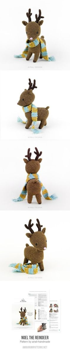 Noel the Reindeer amigurumi pattern
