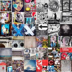 Montage title: Me & my graphic world Part 2 – Images I take and graphic observations of the visual world around me. Ranges, Tatoos, Thats Not My, Photo Wall, World, Frame, Illustration, Pictures, Design
