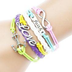 Anchor Inspired Love Amor Bracelet Brand New in packaging! Jewelry Bracelets