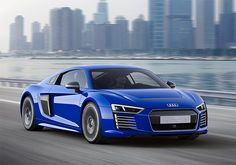 Audi R8 ETron Piloted Driving concept