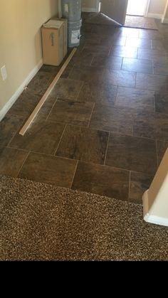 Slate Supremo Autumn 16x16 Home, Slate, Flooring, Tile Floor, Saratoga Homes