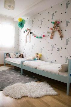 125 großartige ideen zur kinderzimmergestaltung ... - Kinderzimmer Fur Zwei