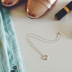"""✨2x HP! Tiffany & Co. silver heart necklace Original Tiffany & Co. Elsa Peretti Open Heart pendant, small. Sterling silver on a 16"""" chain. Heart size: 16mm. (No scratches. Just cleaned.) In excellent condition. /// Host Pick - 6/9 Wardrobe Goals Party /// Host Pick - 6/12 Pretty, Girly & Flirty Party /// Comes with Tiffany's gift box! Tiffany & Co. Jewelry Necklaces"""
