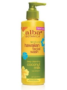Alba Botanica Coconut Milk Facial Wash 8Ounce Bottle Pack of 2 * Read more reviews of the product by visiting the link on the image. (This is an affiliate link) #FaceTonersandAstringents