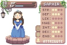 Select... Saphir by ElfSama