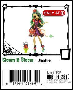 Gloom & Bloom-Monster High Doll Checklist