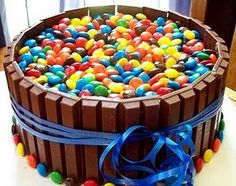 M & M Cake for my 21st yes please