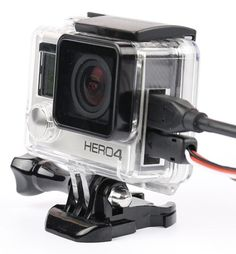 Side Open Waterproof Housing Protective Skeleton Case for GoPro Hero 4