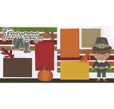 Thanksgiving Day - Pilgrim Boy Page Kit