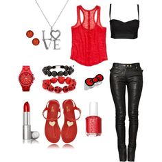 cool Rocker outfit!!!! Finally. Love this....