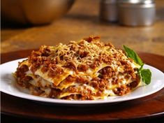 Betty's Sister's Lasagna on http://mommacooking.com