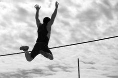 Joshua pole-vault flying :)