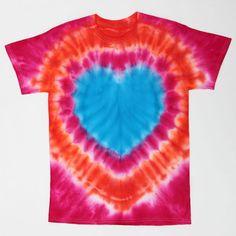 iLovetoCreate Heart's Delight T-shirt #tiedye #craft