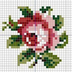 Милые сердцу штучки: Вышивка крестом: Розочки в стиле шебби-шик... и не только…