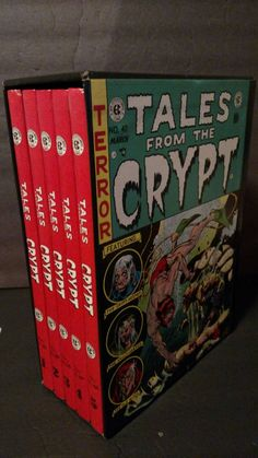 The Complete Tales From the Crypt 1979 from the EC Library by TheVintageVagabonds on Etsy