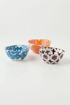 Gloriosa Bowls