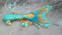 Full Silicone Mermaid Tail and Top by Merbella Studios inc.