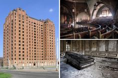 Most of us are familiar with the lost city of Atlantis myth, but explore closer to home and you'll find the lost city of Detroit. The city was once a boom town accounting for one of the largest collections of architecturally inspired buildings in America – impressive structures that still stand today, albeit gutted skeletons of their former selves.