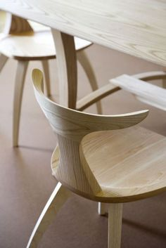 Via thedesignwalker.tumblr.com  Meridian, furniture collection from Thos. Moser.