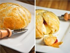Brie in Puff Pastry