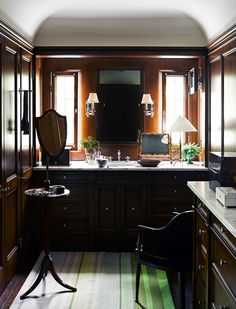 Gentleman's Dressing Room. Pacific Palisades Perfection by Jeffrey Alan Marks