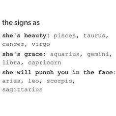 """""""She's grace""""..... as if! #Aquarius"""