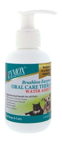 Zymox Water Additive - 4 oz. bottle #oralcare #pets #zymox #animalhealth